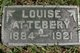 Profile photo:  Louise D. Attebery