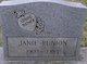 Janie <I>Robinson</I> Runion