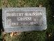 Dorothy Elizabeth <I>Atkinson</I> Grosse
