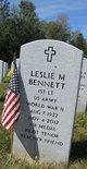 "Profile photo:  Leslie M ""Les"" Bennett"