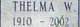 Thelma Clyde <I>Waddell</I> Gambill