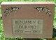 Benjamin E. Durand