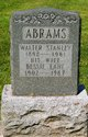 Profile photo:  Bessie Gertrude <I>Lane</I> Abrams