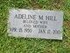 Profile photo:  Adeline M Hill
