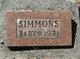 "Profile photo:  ""Baby"" Simmons"