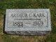 Profile photo:  Arthur C. Kark