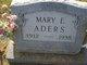 Profile photo:  Mary Elizabeth <I>Lillpop</I> Aders