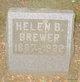 Helen B. <I>Schreck</I> Brewer