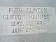 Ruth C <I>Clifton</I> Hammett