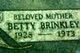 Profile photo:  Betty Lou <I>Wade</I> Brinkley