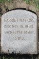 Harriet <I>Beckwith</I> Watkins