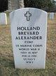 Holland Brevard Alexander