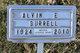 Alvin E Burrell