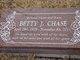 Betty J Chase