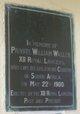 Pvt William Waller
