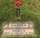 "Jerald R. ""Jerry"" Hansen"