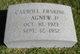 Carroll Erskine Agnew, Jr