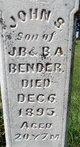 John S. Bender