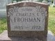 Profile photo:  Charles Isaac Frohman