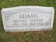 Bertha <I>Berger</I> Adams