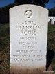 Arvil Franklin Rouse