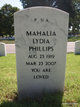 Mahalia Lydia Phillips