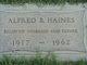 Profile photo:  Alfred Benton Haines