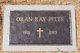 Oran R. Pitts