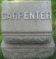 Profile photo:  Carpenter