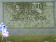 Profile photo:  Clifford Akers