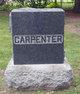 Profile photo:  Clarissa <I>Blanchard</I> Carpenter