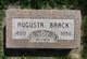 Augusta Baack