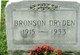 Profile photo:  Bronson Dryden