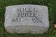 Profile photo:  Alice L <I>Weitman</I> Butler