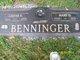 Profile photo:  Lester Emerson Benninger