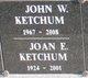 Profile photo:  John W Ketchum