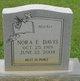 Nora E <I>Mills</I> Davis