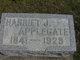 Harriet J Applegate