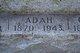 Profile photo:  Adah <I>Jones</I> Webb