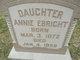 Annie E. Ebright