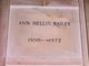 Profile photo:  Ann <I>Hellis</I> Bailey
