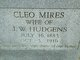 Profile photo:  Cleo <I>(Mires)</I> Hudgens