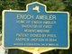 Profile photo:  Enoch Ambler