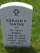 Gerald Francis Yarter