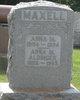 Profile photo:  Anna <I>Maxell</I> Aldinger