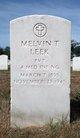 Melvin T Leek