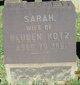 Sarah <I>Haas</I> Kotz