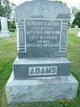 Lucy Maria <I>Norris</I> Adams