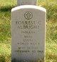 Profile photo:  Forrest C. Albright