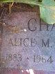 Alice M. <I>Orton</I> Chapin